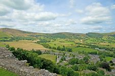 Free A View Of Castleton Stock Image - 13781451