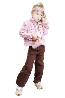 Free Fashionable Girl Stock Photos - 13781543