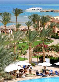 Free Summer Resort Stock Photography - 13781932
