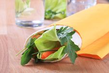 Free Wrap Sandwich Royalty Free Stock Photos - 13781978