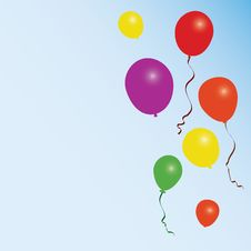 Free Colorful Balloons Stock Image - 13782201