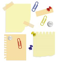 Free Set Of A Stationery Royalty Free Stock Photo - 13782355
