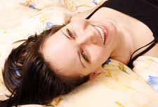 Free Woman In Bed Stock Photos - 13782533
