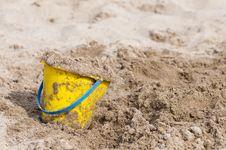 Free Bucket Of Sand Stock Photos - 13782963