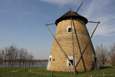 Free Old Windmill Stock Photo - 13783140