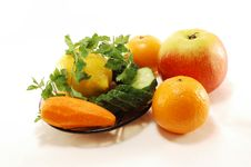 Free Fruits And Vegetables Stock Image - 13783491