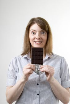 Chocolate Treat Stock Photography