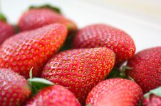 Free Strawberries Royalty Free Stock Photos - 13783678