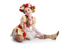 Free Girl In National Costume Royalty Free Stock Image - 13783716