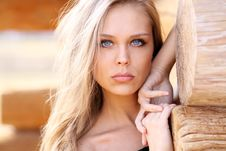 Free Portrait Of A Beautiful Young Woman Royalty Free Stock Images - 13783989