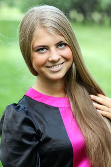 Free Portrait Of Young Woman Stock Photography - 13784042