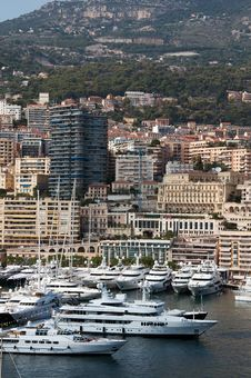 Free Yachts In Monaco Stock Photography - 13784192