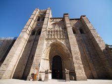 Free Avila Cathedral, Spain Royalty Free Stock Image - 13784346