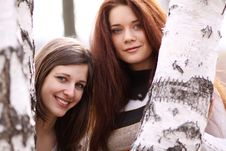 Free Two Young Women Royalty Free Stock Photo - 13784385