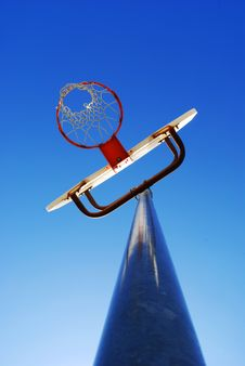 Basketball Hoop Royalty Free Stock Photography