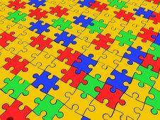 Free Puzzle Royalty Free Stock Photo - 13785715