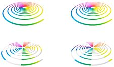 Free Rainbow Spiral Stock Images - 13786084
