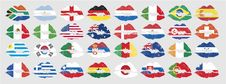 Free National Flags Of Countries Royalty Free Stock Photos - 13786138