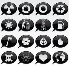 Free Environmental Icons Stock Images - 13786324