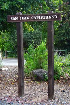 San Juan Capistrano Los Rios Historic District Stock Photos