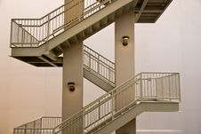 Free Architectural Exterior  Staircase Stock Photography - 13787012