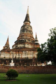 Free Wat In Ayutthaya Royalty Free Stock Photo - 13787015