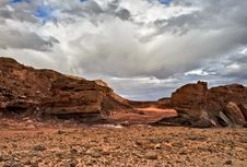 Free Stones Of Timna Park Royalty Free Stock Image - 13787356