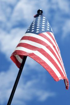 Free American Flag (4th Of July) Royalty Free Stock Image - 13787896