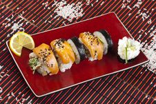 Free Complete Sushi Meal Stock Photography - 13788602