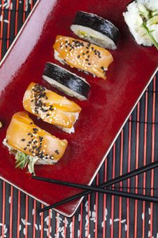 Free Complete Sushi Meal Stock Photos - 13788603