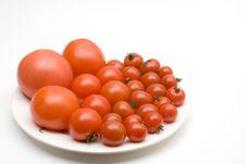 Free Set Of Tomato Royalty Free Stock Photos - 13788678