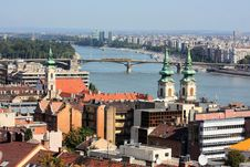 Landscape Of Budapest Stock Photo