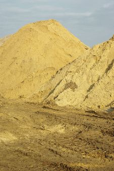 Free Sand Piles On The Workplace Stock Photography - 13789512
