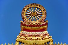 Free Wheel Of Dhamma Stock Image - 13789761