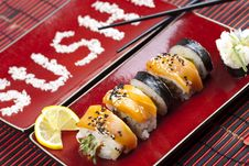 Free Close-up Of Sushi Stock Images - 13789824