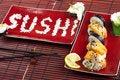 Free Sushi Royalty Free Stock Photo - 13790135