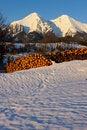 Free Mountains Of Belianske Tatry Stock Photography - 13790662