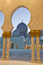Free Dome Framed By Arches Royalty Free Stock Images - 13792199