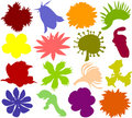 Free Flower Icons 02 Royalty Free Stock Photos - 13798238