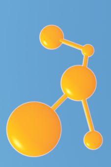 Free Molecule Stock Image - 13790021