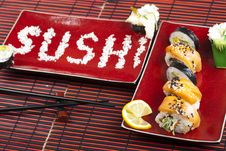 Free Sushi Royalty Free Stock Photo - 13790135