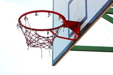 Free Basketball Hoop Taken In Kiev Stock Photography - 13790472