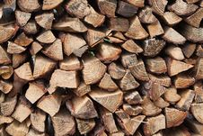 Free Pile Of Firewood Royalty Free Stock Photos - 13790498