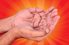 Free Praying Hand Stock Photo - 13790670
