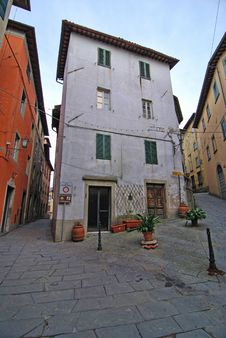 Free Barga, In The Province Of Lucca, Italy Stock Photo - 13790730