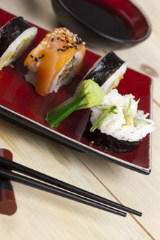 Free Sushi Meal Stock Photo - 13790790