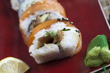 Free Sushi Meal Royalty Free Stock Photography - 13790857