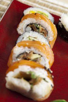 Free Sushi Royalty Free Stock Photos - 13790888