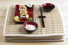 Free Complete Sushi Meal Royalty Free Stock Photo - 13791015