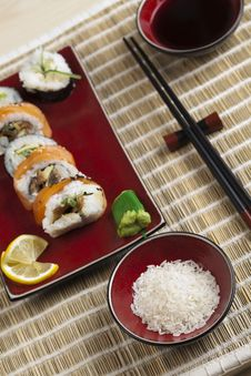 Free Sushi Royalty Free Stock Photography - 13791037